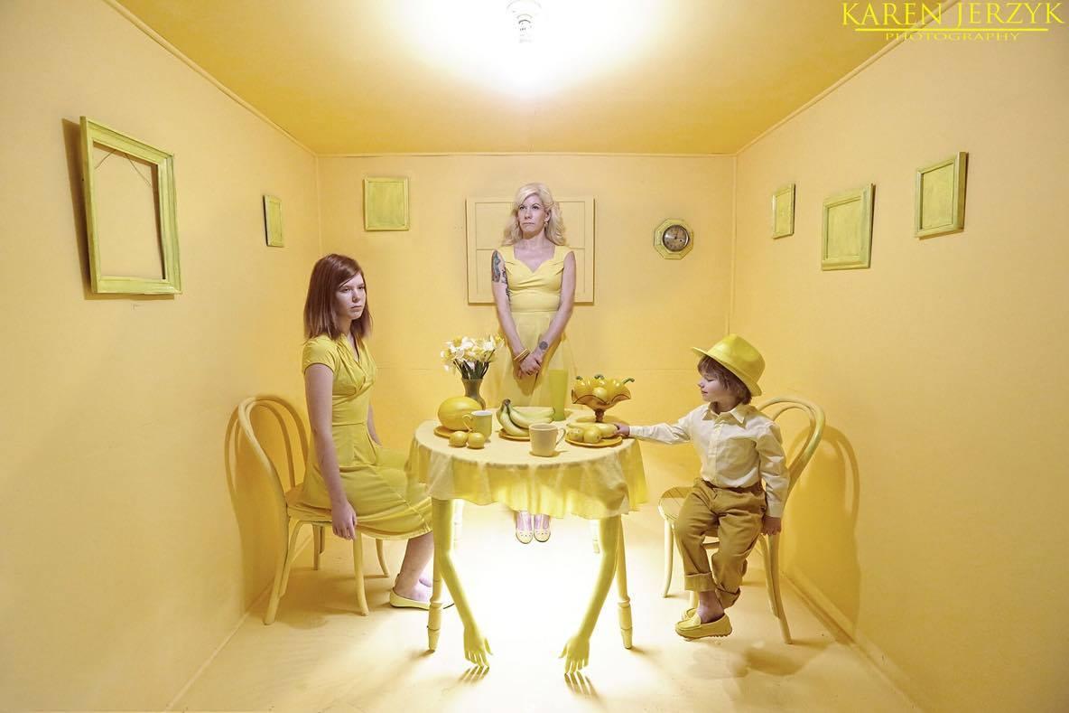 Yellow by Karen Jerzyk