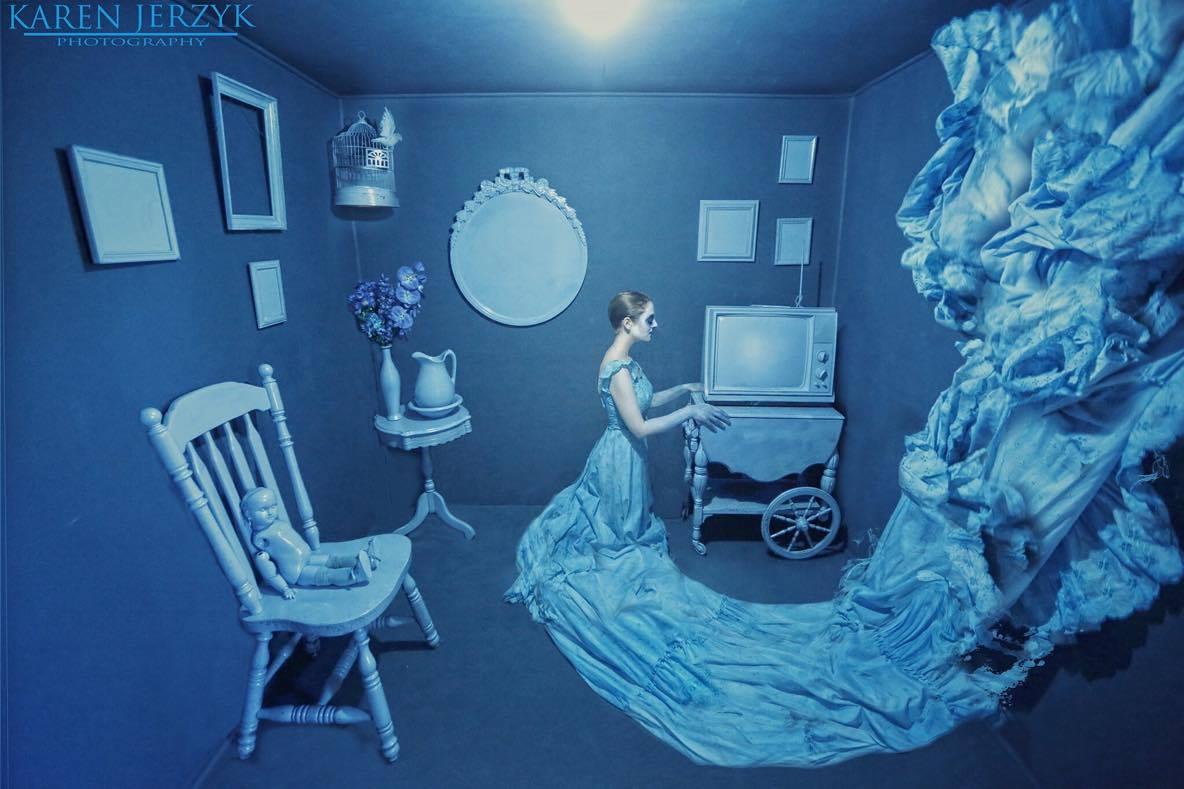Blue by Karen Jerzyk