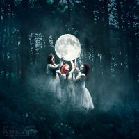 """Image Title:""""Sisters of the Moon"""""""