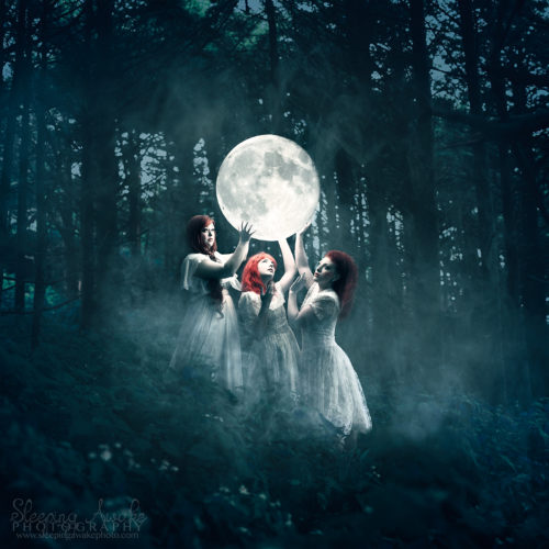 "Image Title:""Sisters of the Moon"""